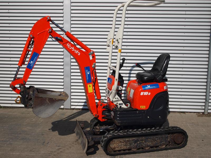 Minigraver Kubota 990 kg